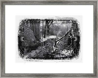 Snow 2018 Framed Print