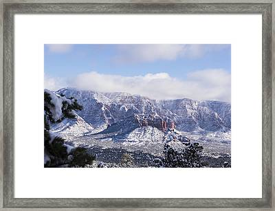 Snow Blanket Framed Print