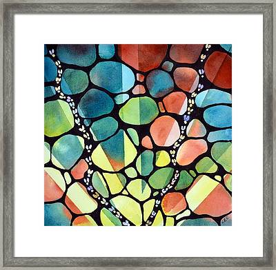 Snow Bugs Framed Print