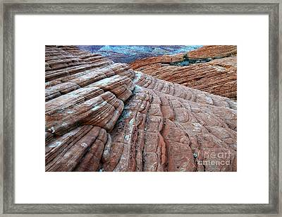 Snow Canyon Utah 2 Framed Print