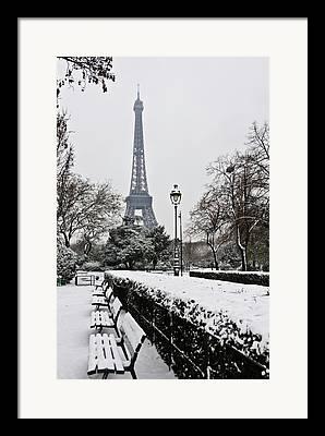 Ile De France Framed Prints