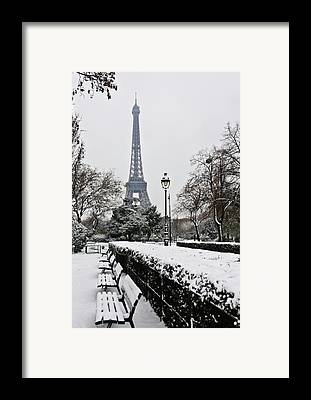 Cold Temperature Framed Prints