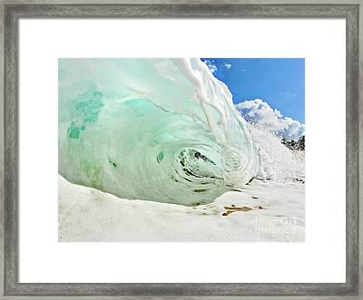 Snow Cave Framed Print by Paul Topp