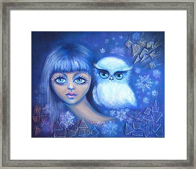 Snow Children Framed Print