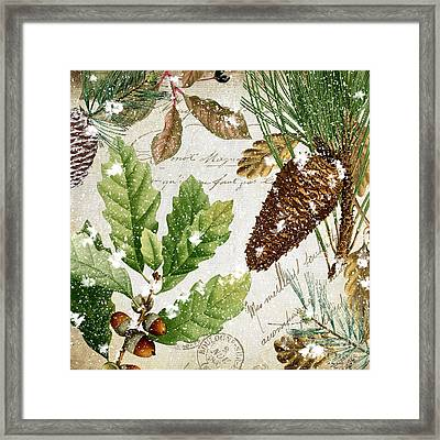 Snow Cones II Framed Print by Mindy Sommers