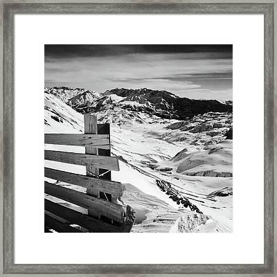 Snow Framed Print by Contemporary Art