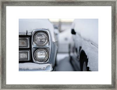 Snow Covered Classic Framed Print