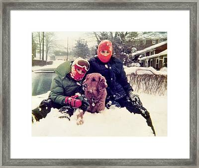 Snow Day Framed Print by JAMART Photography
