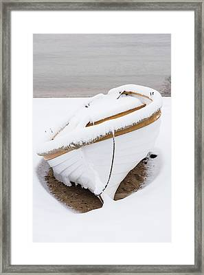 Snow Dory Framed Print