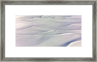 Snow Drift Framed Print by William Wetmore