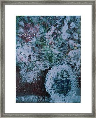 Snow Globe Gone Wild II Framed Print by Anne-Elizabeth Whiteway