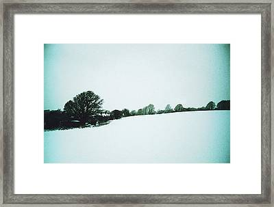 Snow In Sussex Framed Print