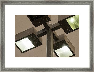 Snow In The Air 2 - Framed Print