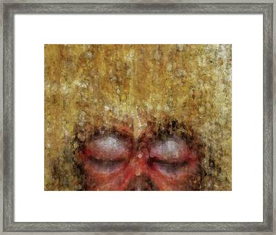 Snow Monkey Dreams Framed Print