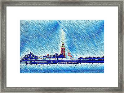 Snow Morning Framed Print by Yury Bashkin