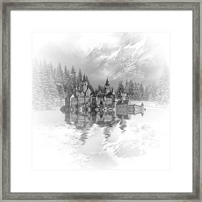 Snow Palace Framed Print by Sharon Lisa Clarke