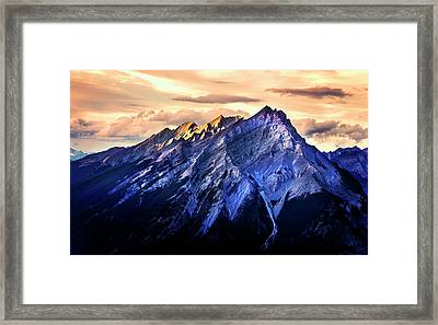 Framed Print featuring the photograph Mount Cascade by John Poon