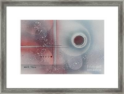 Snow Powder Framed Print by Monte Toon