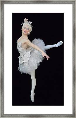 Snow Queen Framed Print by Vickie Arentz