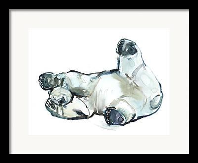 Polar Bears Framed Prints