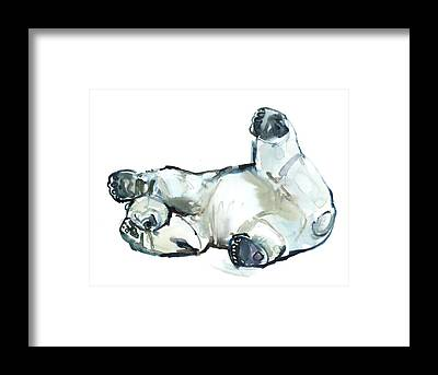 Polar Bear Framed Prints