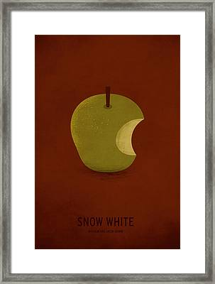 Snow White Framed Print by Christian Jackson