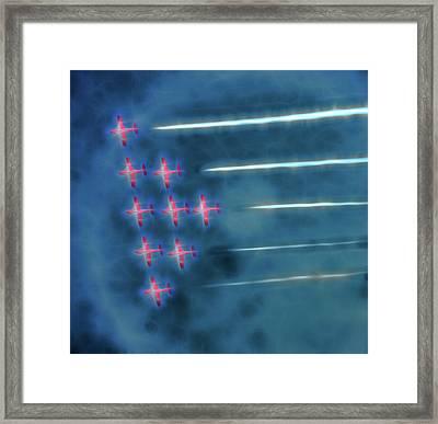 Snowbird Formation 1 Framed Print