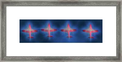 Snowbird Formation 2 Framed Print