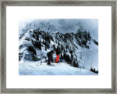 Snowbird Framed Print by Jim Hill