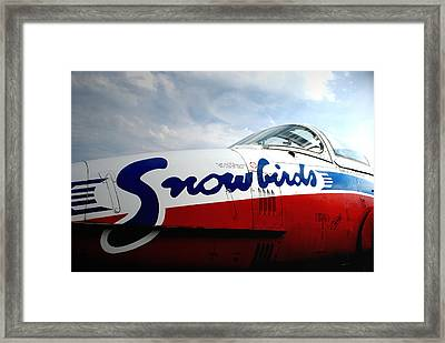 Snowbirds 2 Framed Print by Mark Alan Perry