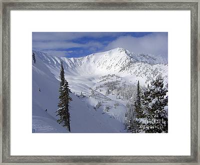 Snowbowl Framed Print by Ryan Djakovic