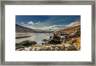 Snowdon From Llynnau Mymbyr Framed Print