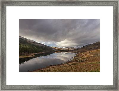 Snowdon Reflection Framed Print