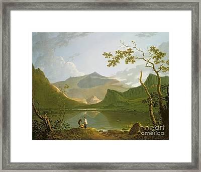 Snowdon Framed Print by Richard Wilson