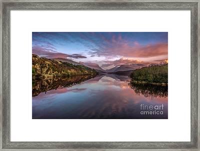 Snowdon Sunset Framed Print