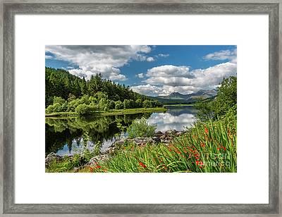 Snowdonia Lake Wales Framed Print