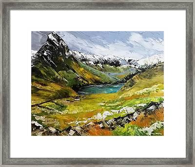 Snowdonia Wales Framed Print
