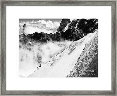 Snowdown Framed Print