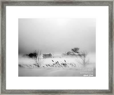 Snowed - In Framed Print