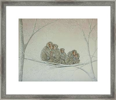 Snowed Under Framed Print by Pat Scott