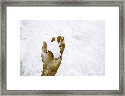 Snowfall In Tasmania Framed Print by Jorgo Photography - Wall Art Gallery