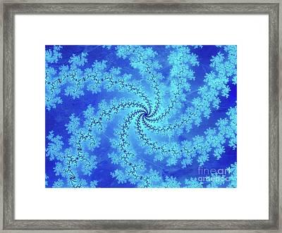 Snowflake Origins Framed Print