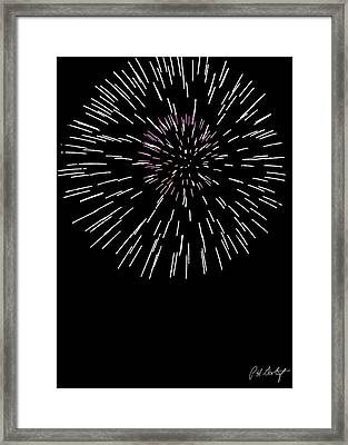 Snowflake Framed Print by Phill Doherty