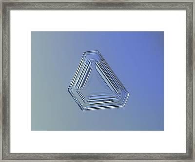 Snowflake Photo - Four Directions Alt Framed Print