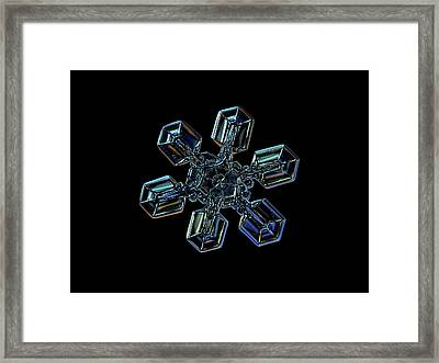 Snowflake Photo - High Voltage IIi Framed Print