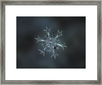 Snowflake Photo - Starlight II Framed Print