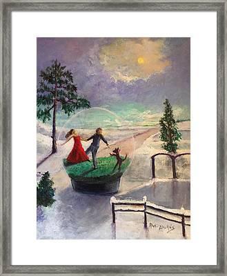Snowglobe Framed Print