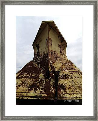 Snowplow1 Framed Print by The Stone Age
