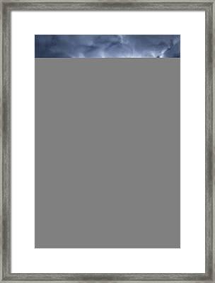 Snowscape Framed Print