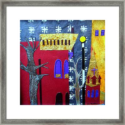 Snowstorm Backbay Framed Print by Debra Bretton Robinson